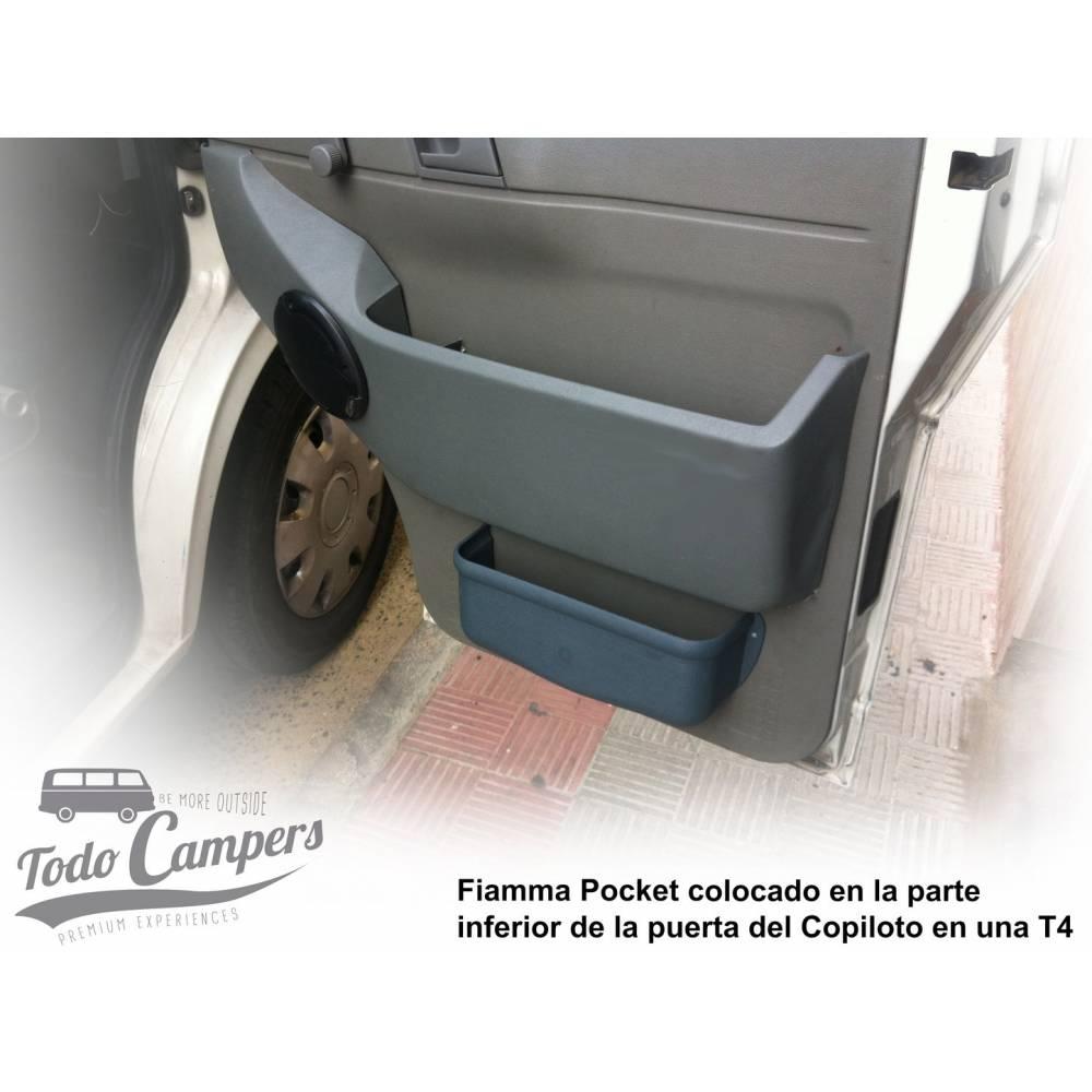 Fiamma Poket M Bolsillo de Almacenamiento de pl/ástico Blanco