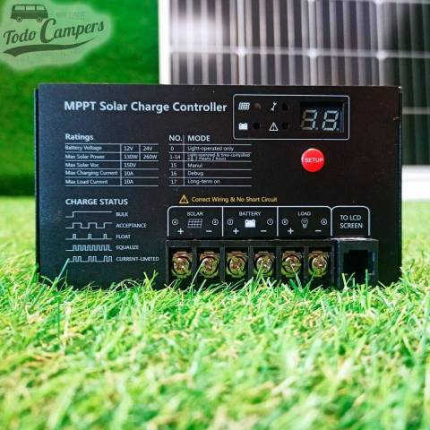 Regulador solar Vechline de 10A - MPPT