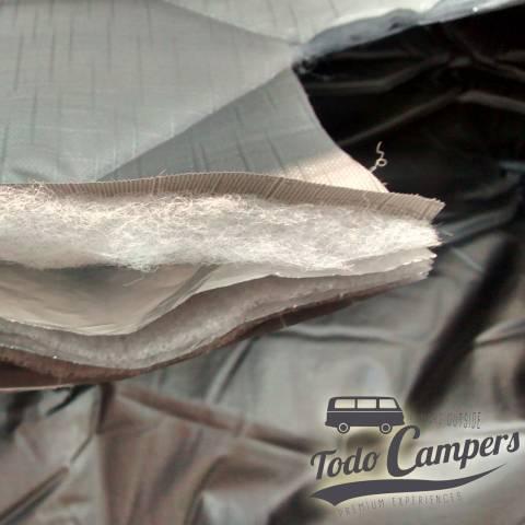 composicion aislante termico para furgonetas