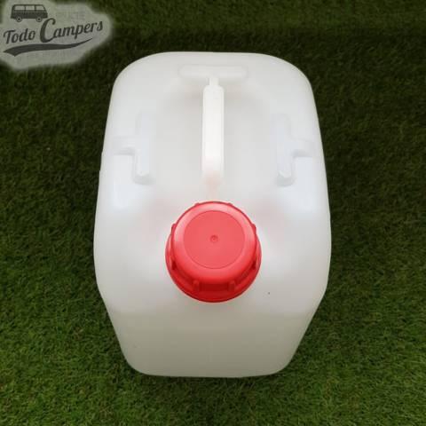 Garrafa de agua camper - 10 litros (uso alimentario)