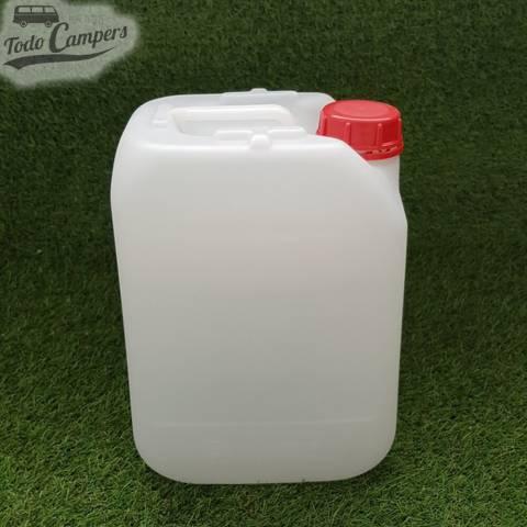 Depósito de agua de 10 litros apto para uso alimentario