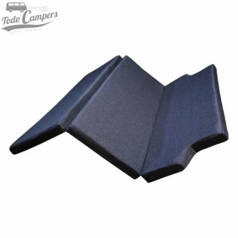 Colchón de espuma HR + Visco (5+3 cm) para Trafic, Vivaro y Primastar 2002-2014 (sin plásticos)