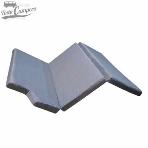 Colchón de espuma HR + Visco (5+3 cm) para Mercedes Vito Tourer, Clase V y Marco Polo desde 2014 - ANTIMANCHAS