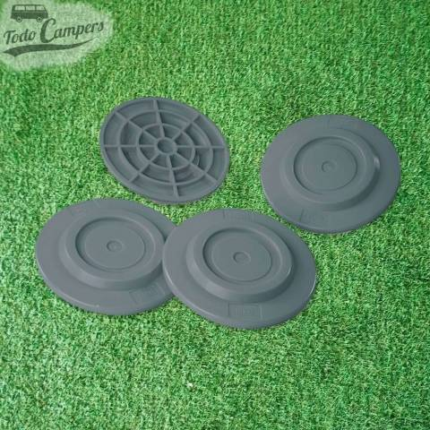 4 Apoya patas anti hundimiento Fiamma Plates