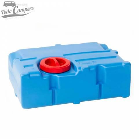 Depósito de agua limpia camper de 70 litros. Depósito aguas limpias para tu furgoneta, autocaravana o caravana