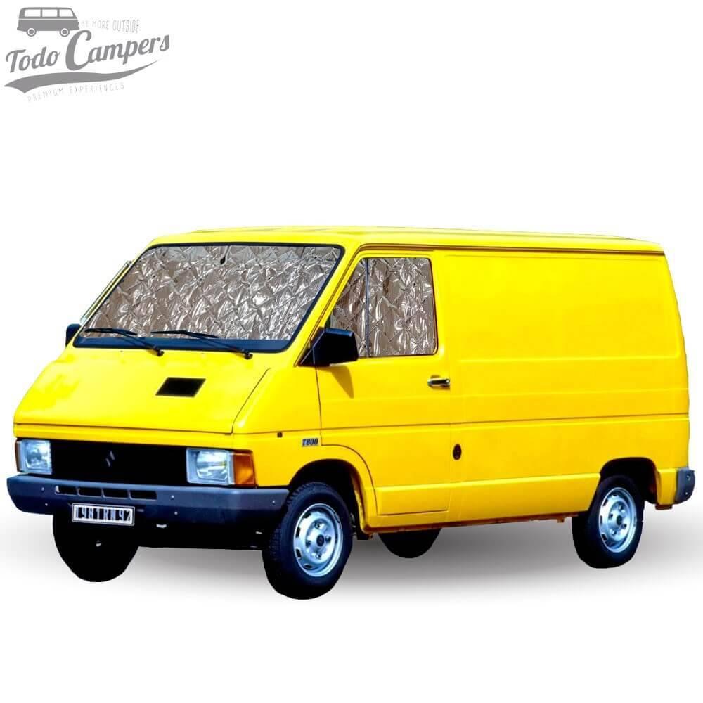 Aislantes Térmicos Renault Trafic 1981-2002 - Juego Cabina (3 Piezas)