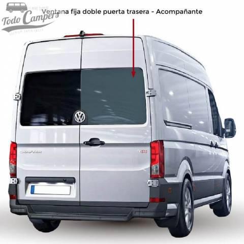 Ventana fija doble puerta trasera Acompañante para VW Crafter desde 2017