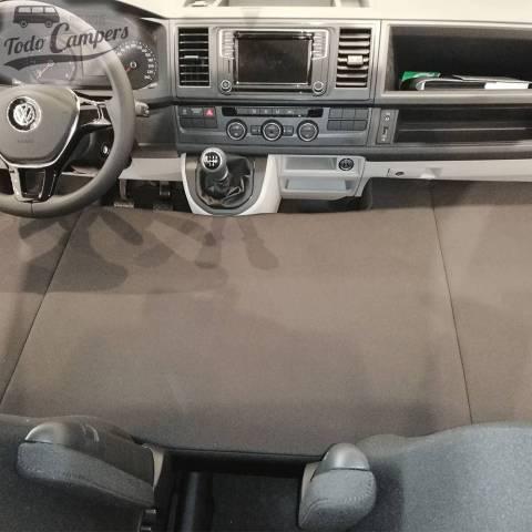 Cama plegable infantil para Volkswagen VW T5, T6 y T6.1 desde 2003 - CHENILLA