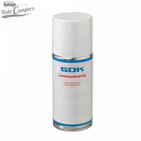 Spray detector de fugas de gas