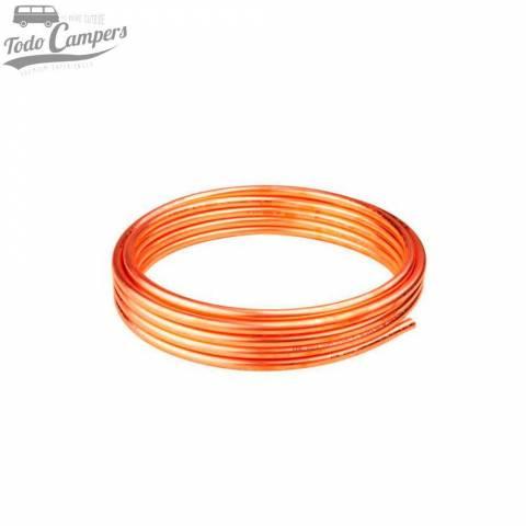 Rollo tubo de cobre de 8mm para gas