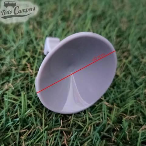 Ventosa sin rosca de 40mm