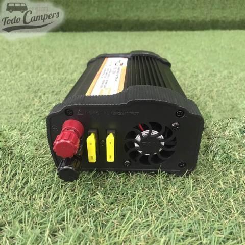 Transformador de corriente de 12V de la batería a 230V
