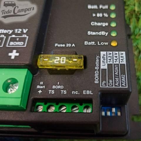 selección de de baterías