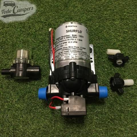 Bomba de Agua Shurflo - 10 Litros