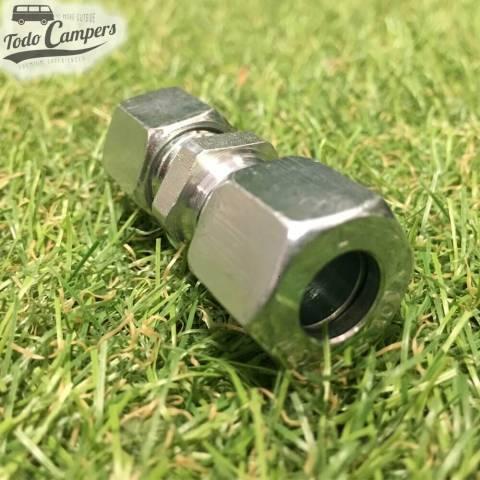 Reductor por tornillo de 10mm a 8mm para tubo de gas