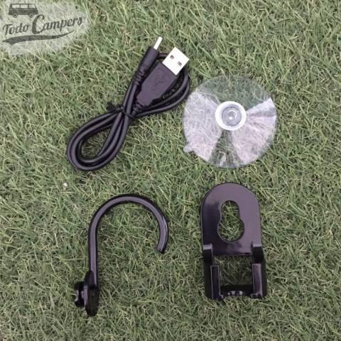 Cargador USB para la carga de ducha portátil