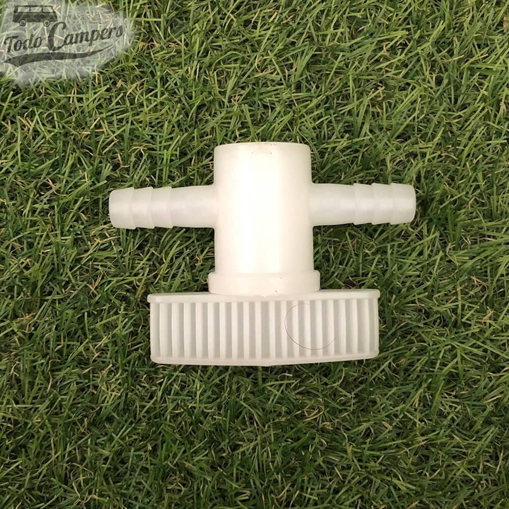 Llave de paso para mangueras de 10mm
