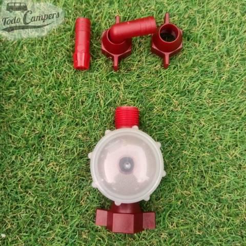 accesorios de la Bomba de Presión 12v Fiamma Aqua F - 13 Litros