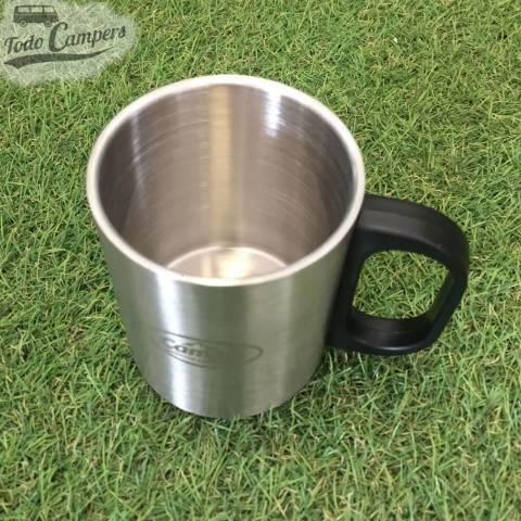 taza térmica de acero inoxidable perfecta para mantener la temperatura.