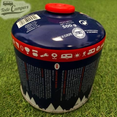 Cartucho de Gas Butano Comercial para aparatos de cartucho de rosca 7/16 universal acorde a la normativa europea