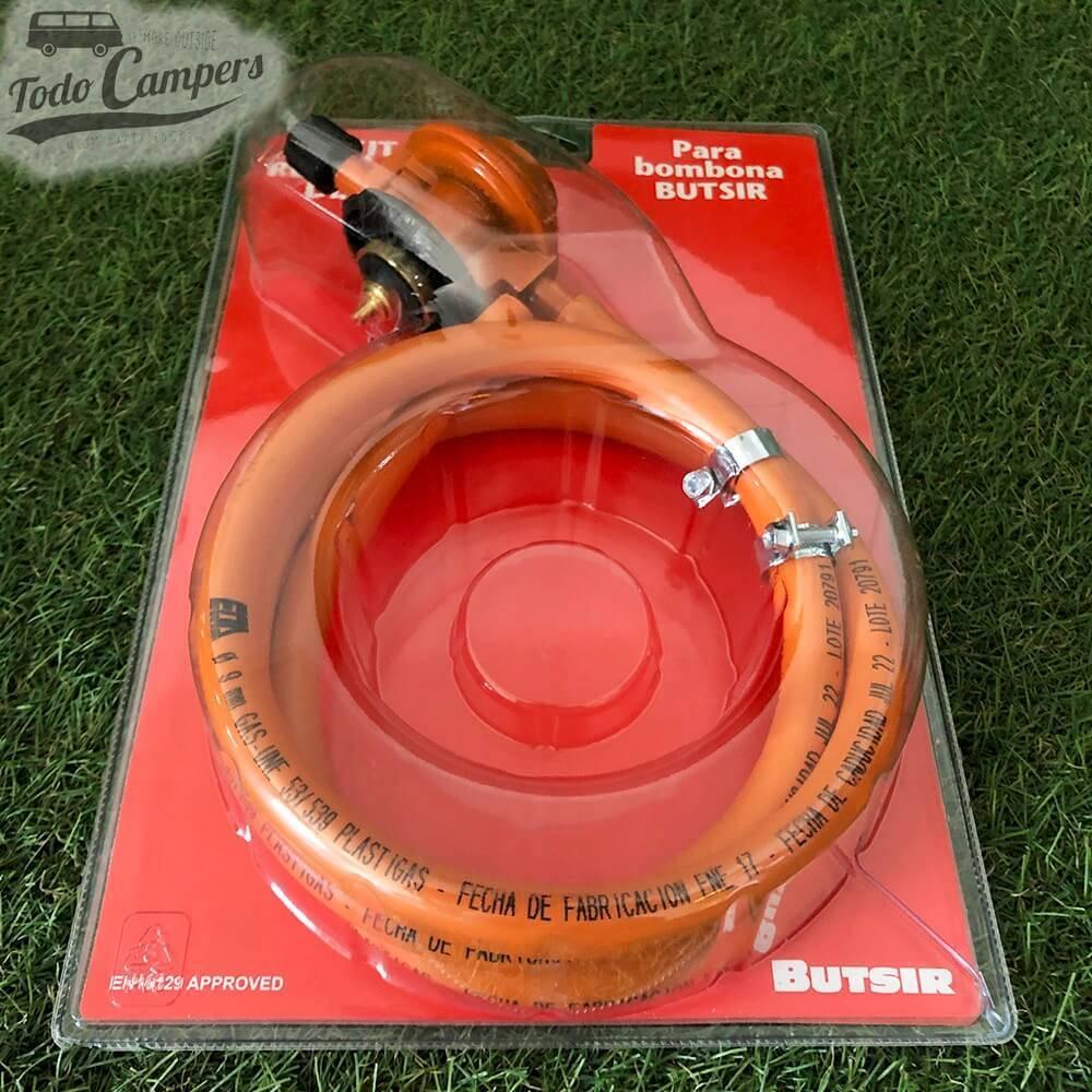Kit Regulador de Gas Butsir (Bombona Naranja Butsir)