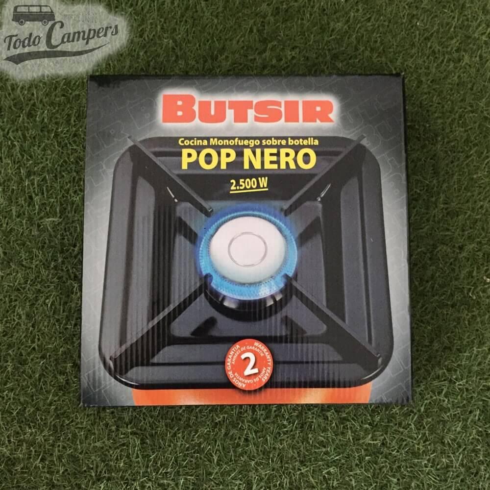 Fogón Pop Nero para botella naranja Butsir