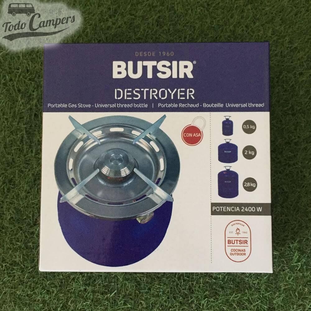Fogón Destroyer para botella azul Butsir