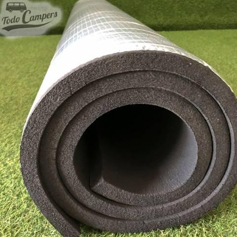 Material fabricado con espuma a base de goma sintética