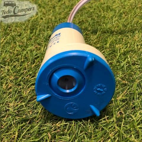 Bomba Sumergible 12v Barwig - 12 Litros - Vista inferior. Bomba depósito de aguas limpias camper