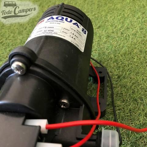 Bomba de presión con caudal de 7 litros