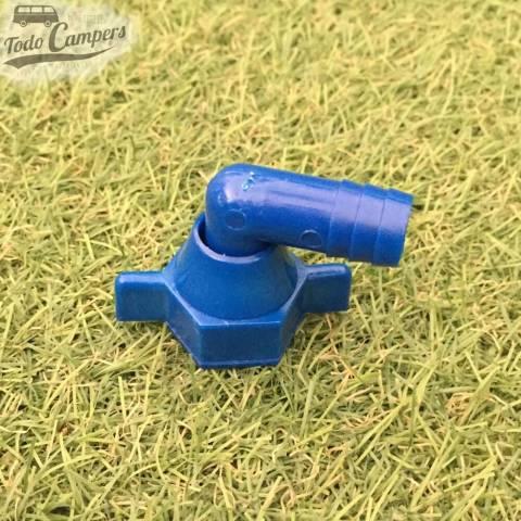 conector 90 grados a bomba  Fiamma Aqua 8, para las versiones anteriores y para cualquier otro tipo de bomba con presostato