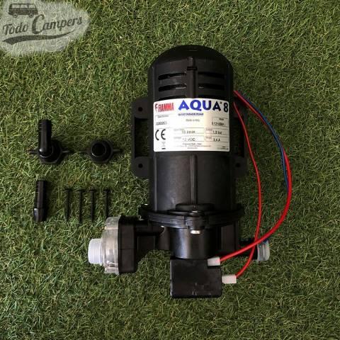 Bomba de Presión Fiamma Aqua 8 - 10 Litros. Bomba depósito de aguas limpias camper