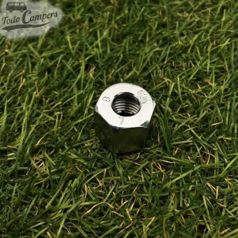 Tuerca ermeto de 8 mm para tubo de gas