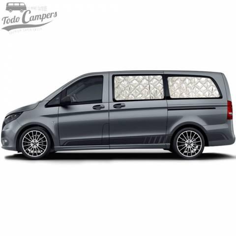 Aislantes Térmicos Mercedes Vito Tourer y Clase V desde 2014 - Habitáculos (ventanas laterales)