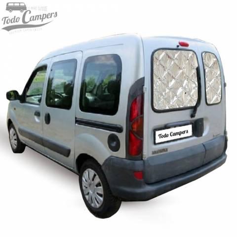 Aislantes para furgoneta Renault Kangoo I con doble puerta