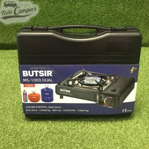 maleta para transportar Cocina hornilla portátil de gas MS-1000 Butsir - Cartucho B-250