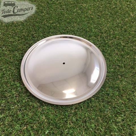 tapa de acero para sartén con diámetro de 22 cm