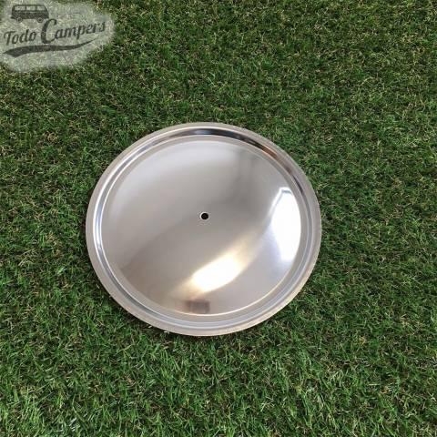 tapa de acero para sartén con diámetro de 18 cm