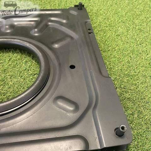 detalle de la base giratoria de VW T4 del 90-96