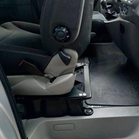 girar asiento en furgoneta camper