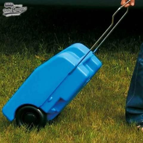 Depósito portátil camper fácil de transportar - 23 litros. Depósito aguas limpias para tu furgoneta, autocaravana o caravana