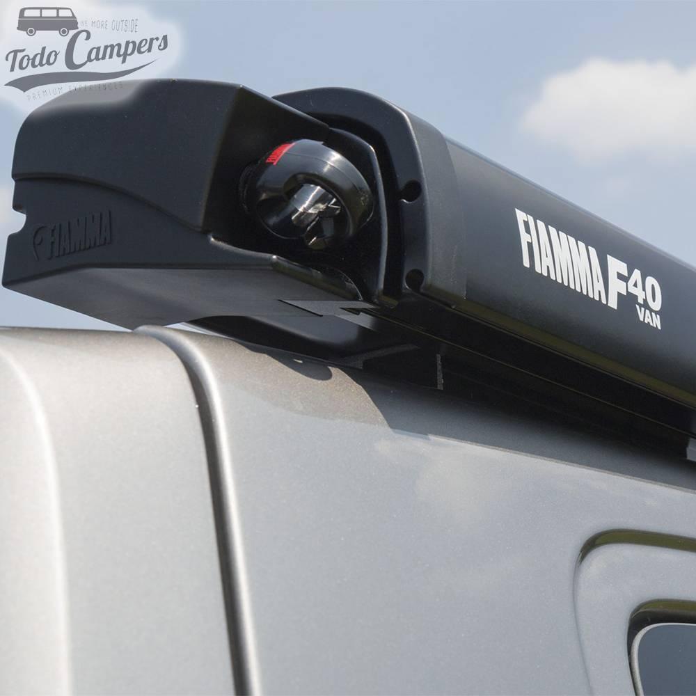 Toldo Fiamma F40Van 270 - Deep Black - Royal Grey