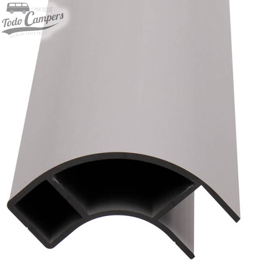 Perfil Aluminio -  2,2 metros - (1 cara)