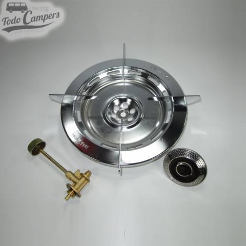 Hornillo portátil de gran potencia con asa incorporada