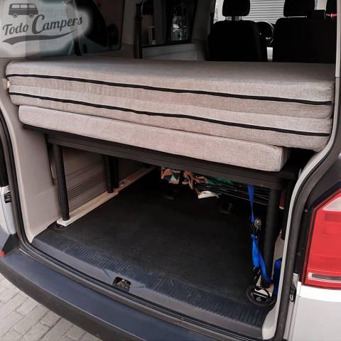 Colchón recogido de Volkswagen T5 y T6