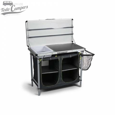 Mesa de cocina para camping modelo KAMPA Chieftain