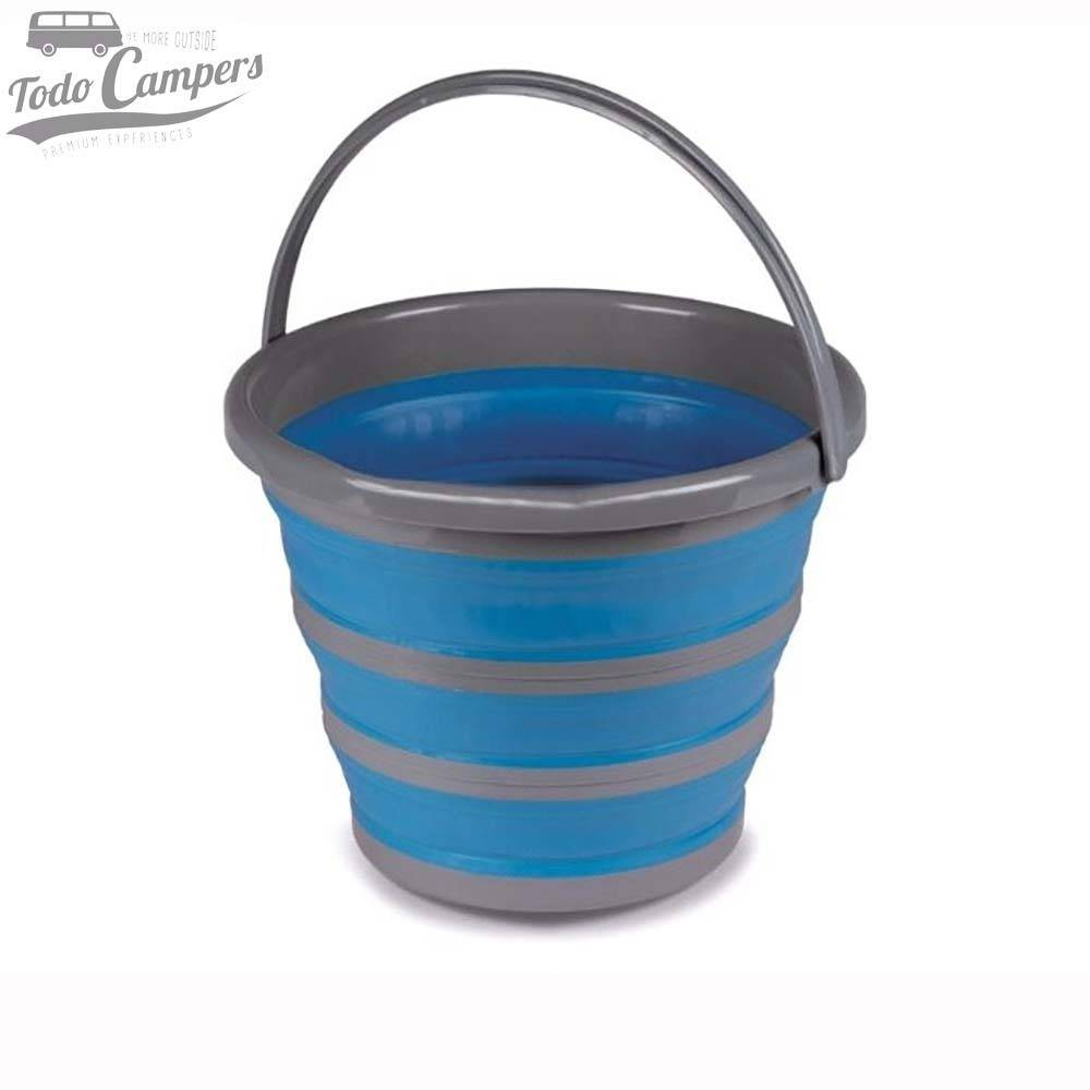 Cubo Plegable 10 litros color azul