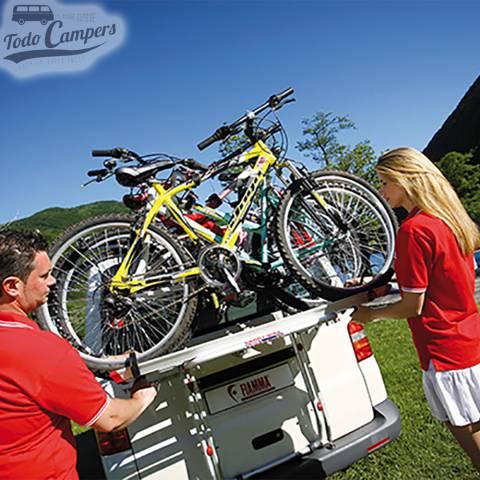 Disfruta de tu bicicleta y llévala en tu furgoneta Volkswagen T5