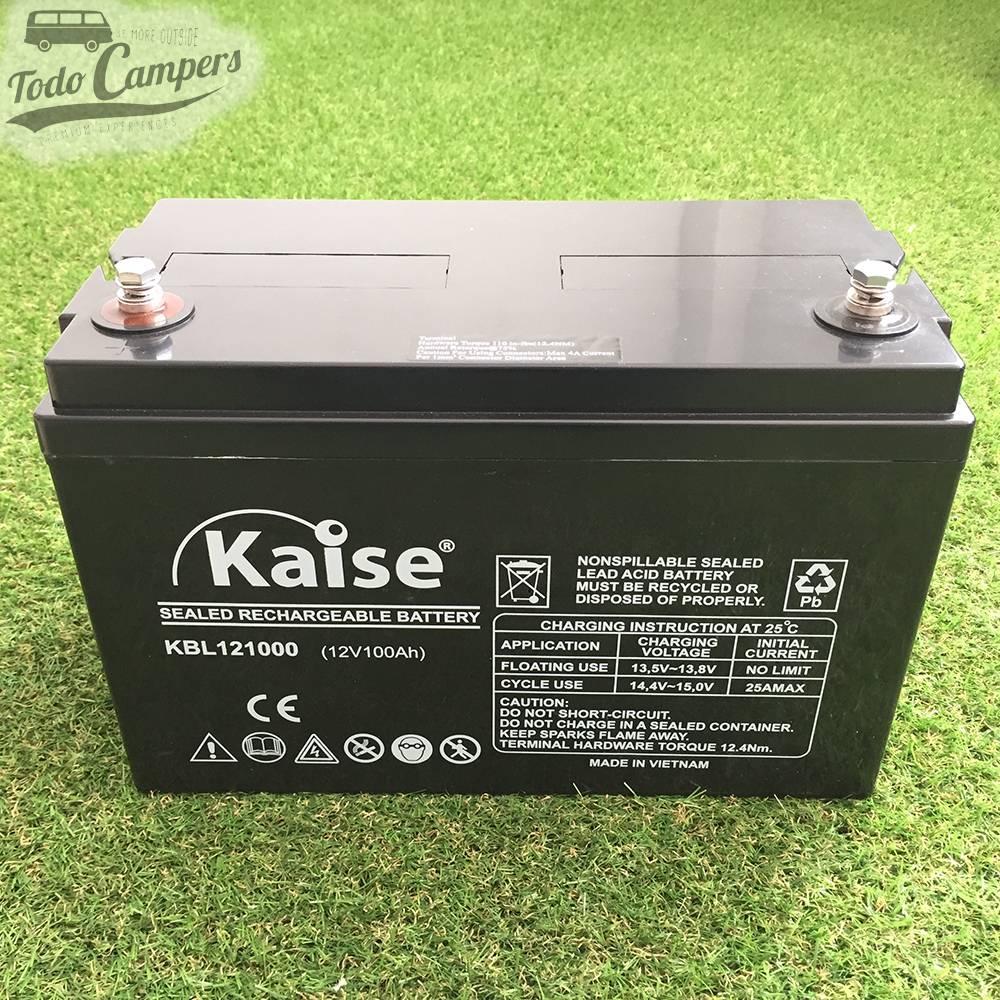 Batería sellada AGM 12v 100A KAISE
