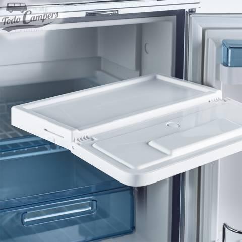 Congelador extraíble para aumentar el espacio de refrigeración